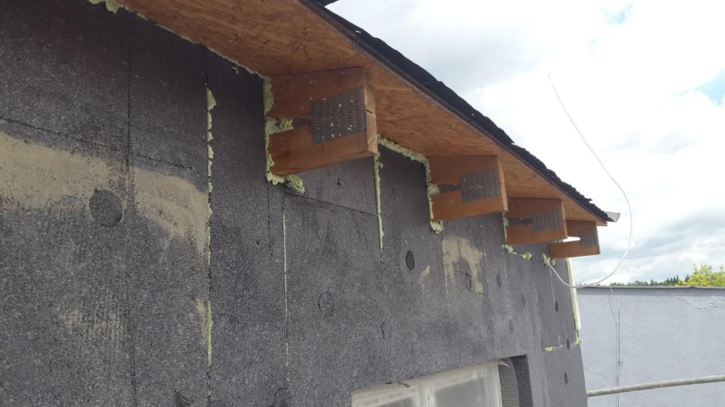 Správně zateplený dům neplesniví ani s polystyrenem.