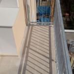 Pohled na nový balkon