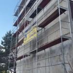 Panelový dům před rekonstrukci