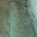 Původní podlaha ve sklepě