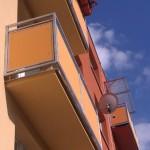 Opravený balkon