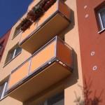 Revitalizace balkonů proběhla úspěšně