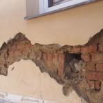 Některá místa domu jsme museli podrobit větší opravě