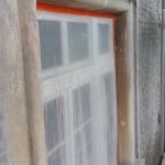 Okna před zahájením prací